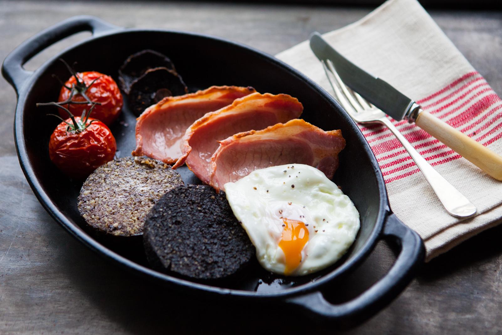 Bacon and Eggs | Food Photography | Carlisle, Cumbria